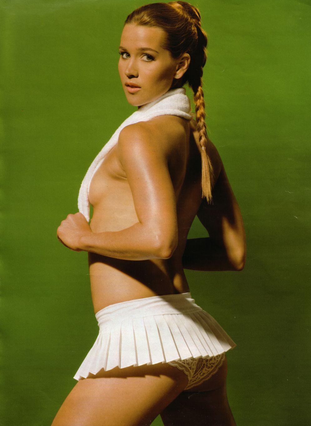 Знаменитые голые теннисистки