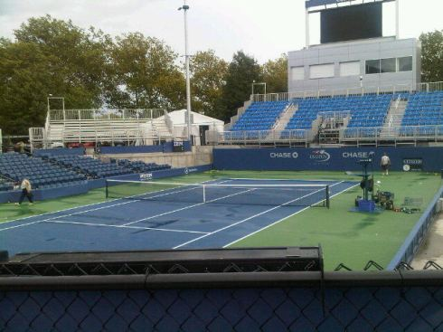 court 17, us open (billie jean king national tennis center)