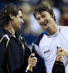 David Ferrer and Juan Carlos Ferrero