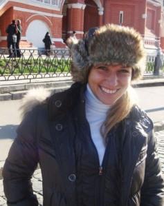 dominika cibulkova in moscow red square