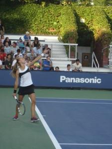 Aleksandra Krunic US Open 2013